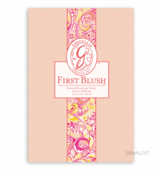Greenleaf & Bridgwater FIRST BLUSH  Large Scented Envelope Sachet
